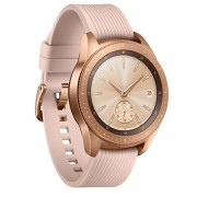 Samsung Galaxy Watch 42mm roza-zlatna