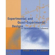 Experimental and QuasiExperimental Designs for Generalized Causal I...