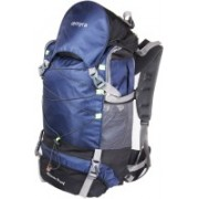 Remyra Tracking Bags for Travelling below 2000 Hiking Backpack 65 L Trekking Bag with Rain Cover Travel Bags Rucksacks for Men Women Outdoor Travel Waterproof Bag Climbing Camping Touring Mountaineering (Navy Blue) Rucksack - 65 L(Multicolor)