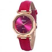 Ceas femei classic luxury casual roz