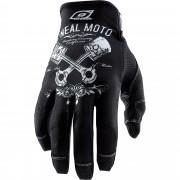 O'Neal Motorradhandschuhe kurz O'Neal Jump Cross Handschuh Pistons S schwarz