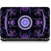 VI Collections Purple Arts PRINTED pvc Laptop Decal 15.6