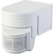 Mozgásérzékelő, infra falra - 230 VAC, 180°, 300 W, max. 12 m, 10 s-7 min, 3-2000lux, IP44 TMB-108 - Tracon