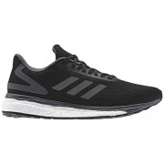 adidas Women's Response Light Running Shoes - Black/Grey - US 8/UK 6.5 - Black/Grey