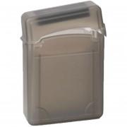 Louiwill 2.5 Pulgadas IDE SATA HDD Duro Drive Caja De Almacenamiento Estuche Protector, Café