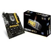 Matična ploča Reparirana - MB LGA1151 B250 Biostar TB250-BTC+, PCI-e/DDR4/SATA3/GLAN/7.1