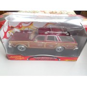 1979 Chrysler LeBaron Town & Country Wagon 1/24 Tan (Brown)
