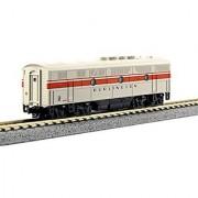 Kato USA Model Train Products N EMD F3B - CB&Q Freight Scheme