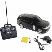 Remote Control Rechargeable Range Rover - (Black RED)