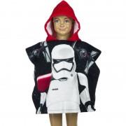Star Wars Stormtrooper badcape zwart/rood voor kinderen