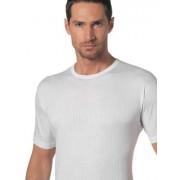 Nottingham Хлопковая мужская футболка белого цвета в полоску Nottingham 2902 распродажа
