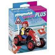 PLAYMOBIL Boy with Racing Cart