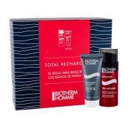 Biotherm Homme Total Recharge Non-stop Moisturizer confezione regalo crema viso giorno 50 ml + gel detergente 40 ml