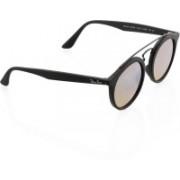 Ray-Ban Round Sunglasses(Silver)