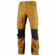 Lundhags - Authentic Pant - Pantalon de trekking taille 46 - Regular, brun/orange/noir
