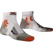 X-Socks Marathon Hardloopsokken Heren wit 45/47 2018 Hardloopsokken