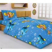 Детско спално бельо FINDING NEMO - 100% Памук