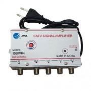 Amplificator semnal TV cu 4 iesiri, alimentare 220V