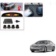 Auto Addict Car Black Reverse Parking Sensor With LED Display For Hyundai Sonata