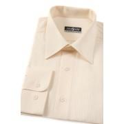 Pánská košile smetanová s jemnými proužky 527-1103-41/42/182