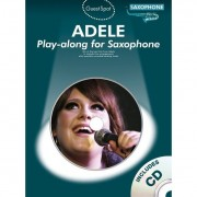 MusicSales - Adele play-a-long voor altsaxofoon