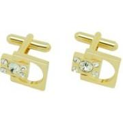 The Tie Hub Brass Cufflink Set(Gold)