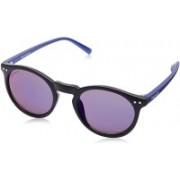 Fastrack Retro Square Sunglasses(Blue)