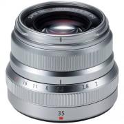 Fujifilm 35mm f/2 xf r wr - argento - 4 anni di garanzia