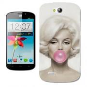 Husa Orange Reyo Silicon Gel Tpu Model Marilyn Monroe Bubble Gum