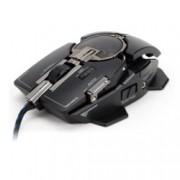 Мишка Zalman Knossos ZM-GM4, гейминг, лазерна (8200dpi), черна, USB