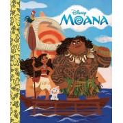 Moana Little Golden Board Book (Disney Princess), Hardcover/Random House Disney