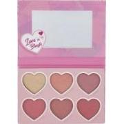 Sunkissed Love 'n' Blush Palette 6 x 4.2g Blushers