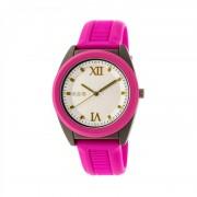 Crayo Praise Quartz Watch - Fuchsia/Charcoal CRACR3607
