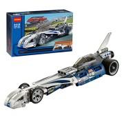 Kiditos Decool Record Breaker Racer Car 3415 Technic Building Blocks Pullback Car Bricks Toys