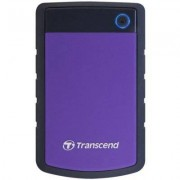 Transcend Dysk StoreJet 25 H3P 2TB HDD Czarno-Fioletowy