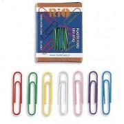 Agrafe pentru birou colorate, 28mm, 50 buc/cutie, RIO