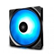 Вентилатор 140мм Deep Cool RF140 DP-FRGB-RF140-1C, 4-pin, 1200rpm, програмируема RGB LED подсветка и контролер
