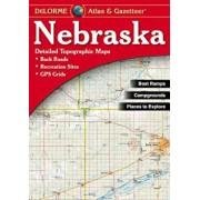 Nebraska - Delorme 2nd, Paperback/Rand McNally