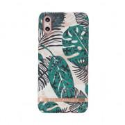 Richmond & Finch feuilles tropicales iPhone X Case - or détails Rose - coloré