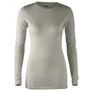 FjallRaven High Coast Top LS W - Fog - Longsleeves XS