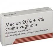 AlfaSigma Meclon Crema Vaginale 30g 20% + 4% + 6 Applicatori
