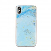 Carcasa Forcell Marble Huawei P Smart (2019) Blue