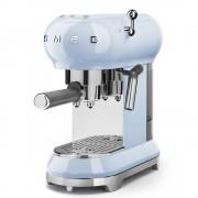 Espressor cafea Smeg ECF01PBEU, albastru, retro, 15 bar