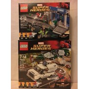 LEGO Super Heroes Beware the Vulture & LEGO Super Heroes ATM Heist Battle by Super-Heroes