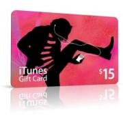 Apple iTunes-Code [USA] $15 Gift Card