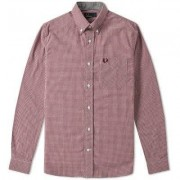 FRED PERRY Classic Gingham Shirt (S)