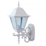 LAMPADA DA GIARDINO A PARETE LANTERNA ATTACCO E27 UP BIANCA LARGE VT-761-LED7522