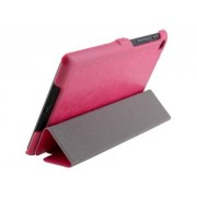 Slim Synthetic Leather Flip Case with Stand for Asus Google Nexus 7 2013 - Asus Leather Flip Case (Pink)