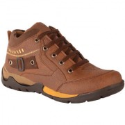 1AAROW 153 BROWN CASUAL SHOES FOR MENS