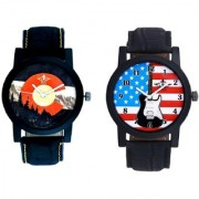 Star USA Guitar With Mount Themes SCK Combo Gallery Wrist Watch
